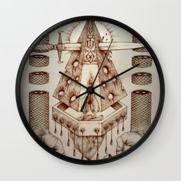 Vagamid - Lord of Fish Wall Clock