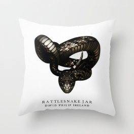 Rattlesnake Jar Throw Pillow
