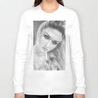 anna Long Sleeve T-shirts featuring Anna by donotseemeart