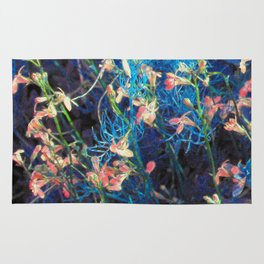 Floral Fantasy - the beauty of an unmowed lawn Rug