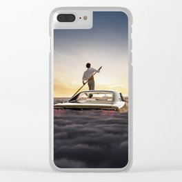 1968 Dodge Charger R/T - If It's Going To Be Endless Clear iPhone Case
