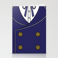 persona 4 Stationery Cards featuring Persona 4 Naoto Shirogane Jacket by Bunny Frost