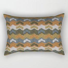 Flying V's Knit Rectangular Pillow