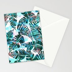 Lani Kai Leaf Green Stationery Cards