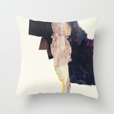 standing figure Throw Pillow
