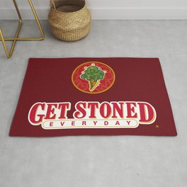 GET STONED EVERYDAY Rug