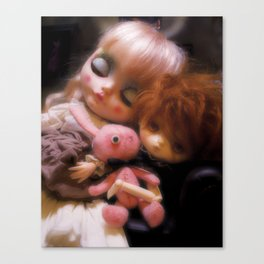 Maja and Jerry Canvas Print