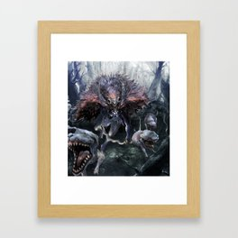 Goddess of the Wild Framed Art Print