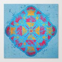 spiritual Canvas Prints featuring Spiritual by Caroline David