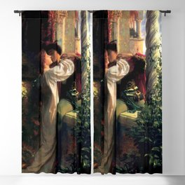 Frank Dicksee - Romeo and Juliet Blackout Curtain