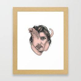 Snakehead Framed Art Print