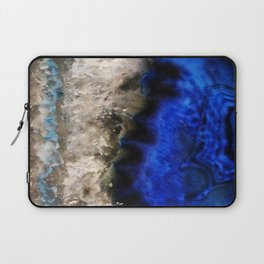 Blue Geode Laptop Sleeve