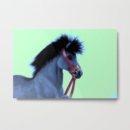 Pop Art Pony 1 Metal Print