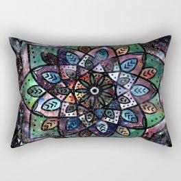 Cosmic Mandala Rectangular Pillow