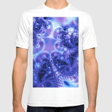 Space Frost MEDIUM Mens Fitted Tee White