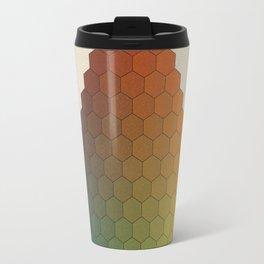 Lichtenberg-Mayer Colour Triangle vintage variation, Remake of Mayers original idea of 12 chambers Travel Mug