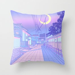 Kyoto Nights Throw Pillow