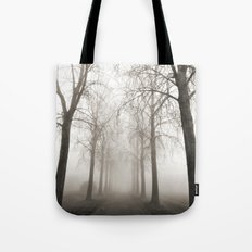 In a Landscape of Trees Tote Bag