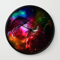 persona Wall Clocks featuring never stop dreaming by haroulita