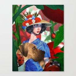 Tomato Princess Canvas Print