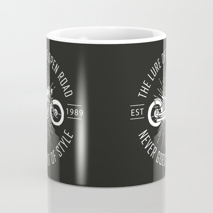 The lure of the open road never goes out of style Coffee Mug