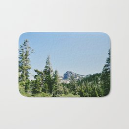 Hiking through the Trees Bath Mat