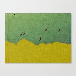 migratory thoughts Canvas Print