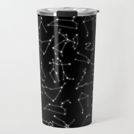 Zodiac Signs Constellations Glowing Stars | Space | Astrology | Cosmos Travel Mug