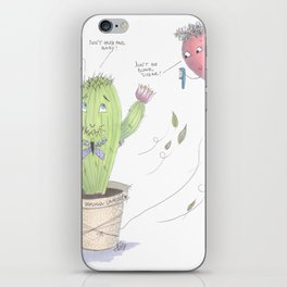 Unconventional Love iPhone Skin