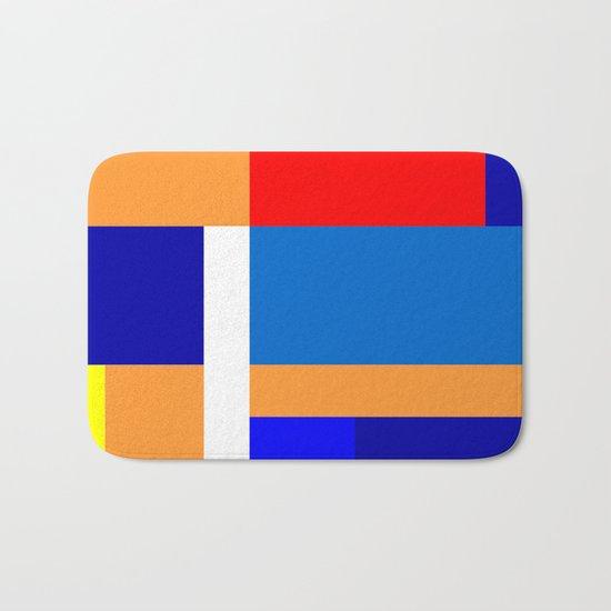 Mondrian #10 Bath Mat