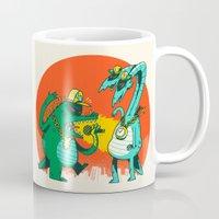kaiju Mugs featuring Kaiju Rap Battle by Morkki