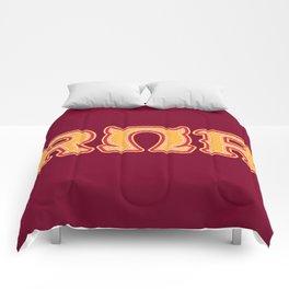Monster University Fraternity : Roar Omega Roar Comforters