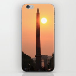 Love is like a Sunset iPhone Skin