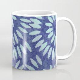 Blue Batik 04 Coffee Mug