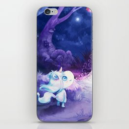 Unicorn comes home iPhone Skin