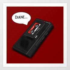 Diane Art Print