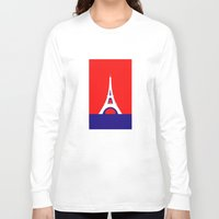 france Long Sleeve T-shirts featuring FRANCE by Marcus Wild