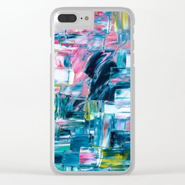 sea & sunrise Clear iPhone Case