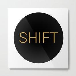 shift typewriter key [ 1 ] Metal Print