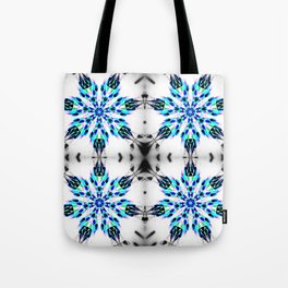 Enchanted Frozen Snowflakes Tote Bag
