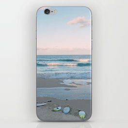 Sunset surf iPhone Skin