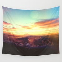 rogue Wall Tapestries featuring Planet Rogue by Polishpattern