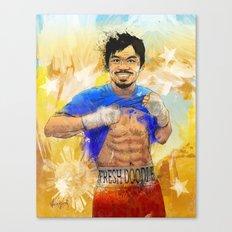 Manny Pacquiao - Pound 4 Pound Canvas Print