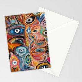 Street Art Brut Vector Graffiti Eyes Stationery Cards