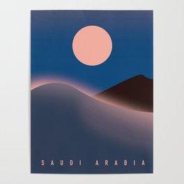 Saudi Arabia Travel poster, Poster