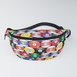Billiards Pool Player Game Pattern Fanny Pack