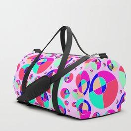 Bubble pink Duffle Bag