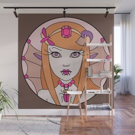 Fairy loves Candy 1 Wall Mural