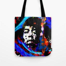 GUITAR MAN:  MUSIC DOESN'T LIE Tote Bag