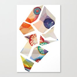 Fragmentation Canvas Print